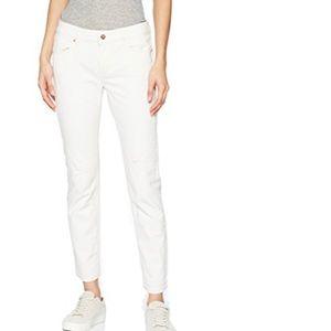 Escada Sport Schlame Jeans Off-White Size 14